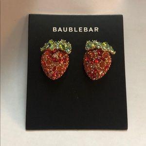 Baublebar Stawberry Stud Earrings